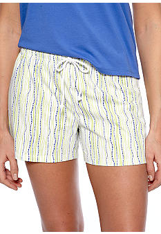 Jockey Bubble Striped Boxer Sleep Short