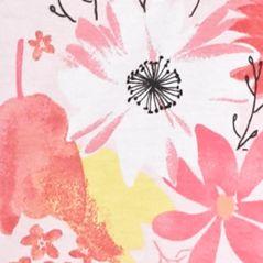Juniors Pajama Pants: Pink Floral Jockey Pink Printed Capris