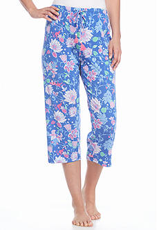 Jockey Floral Capri Pants