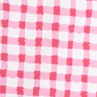 Jockey Women Sale: Pink White Gingham Jockey Gingham Check Cuff Capri