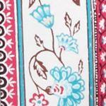Jockey Juniors Sale: Ivory Floral Vine Jockey Floral Flannel Pants