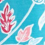 Jockey Women Sale: Turquiose Flower Jockey Floral Flannel Pants