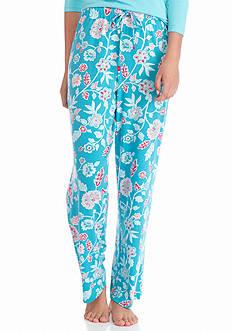 Jockey Floral Flannel Pants