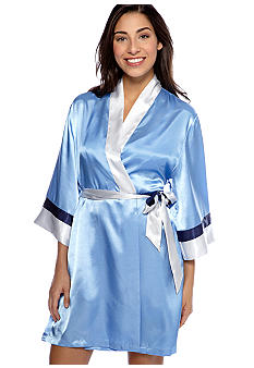 Jones New York Classics Short Wrap Robe