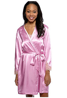 Jones New York Lavender Short Wrap Robe