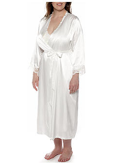 Plus Size Bridal Robe