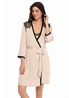 Jones New York Lace Opulence Wrap Robe