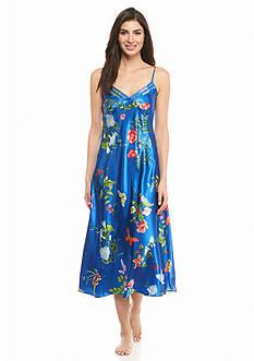 Jones New York Botanical Garden Satin Gown