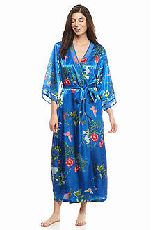 Jones New York Botanical Garden Satin Robe