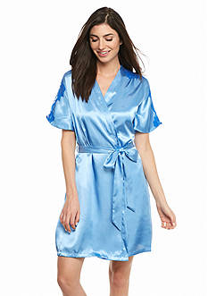 Jones New York Classic Lace Wrap Robe