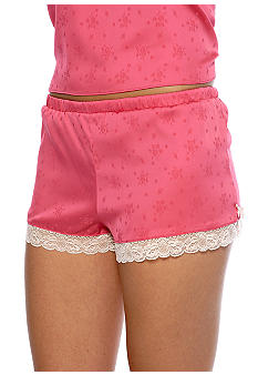 Jessica Simpson Verge of Love Satin Boxer Short - JS11672