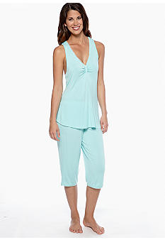 Jessica Simpson Butterfly Tank and Capri Set - JS12134