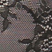 Average Figure Bra: Black Jessica Simpson Lady in Lace Plunge Bra - JS16951