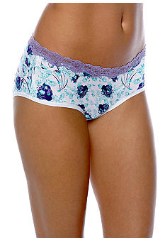 ND Intimates Microfiber Hipster with Stretch Lace Waist - 231204