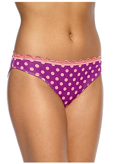 ND Intimates Lace Trim Bikini - B90019