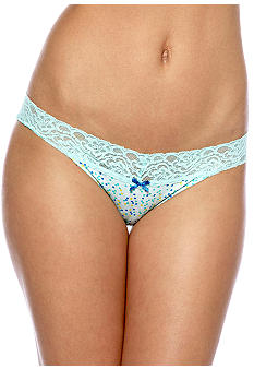 ND Intimates Bikini with Wide Lace Trim - B90022