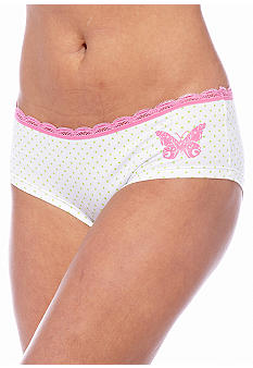 ND Intimates Lace Trim Hipster - H90020