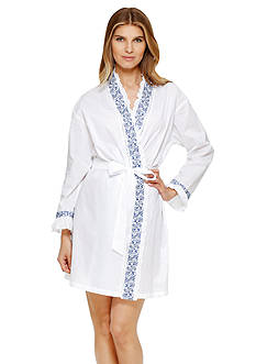 Eileen West Long Sleeve Wrap Robe