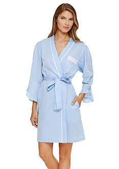 Eileen West Long Sleeve Wrap Robe