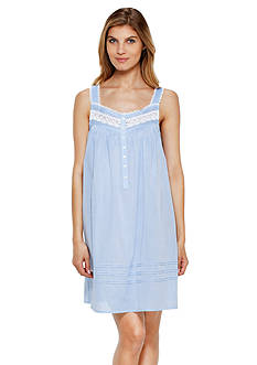 Eileen West Sleeveless Short Night Gown