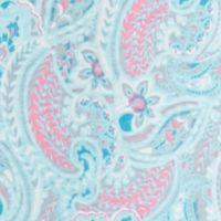 Women: Pajama Sets Sale: Aqua Paisley Kim Rogers Plus Size Vanessa Paisley Knit Caftan