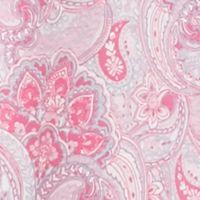 Women: Pajama Sets Sale: Pink Paisley Kim Rogers Plus Size Vanessa Paisley Knit Caftan