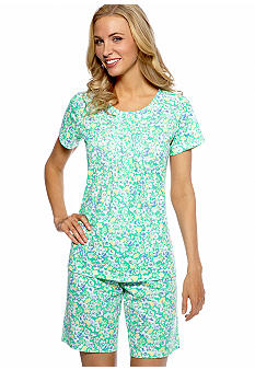 Kim Rogers Morning Blooms Floral Pajama Set