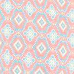 Pajamas for Women: Coral Geo Kim Rogers 2-Piece Gate Geo Tank Capri Pajama Set