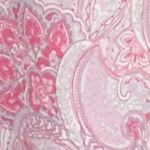 Women: Pajama Sets Sale: Pink Paisley Kim Rogers 2-Piece Long Sleeve Notch Vanessa Paisley Pajama Set