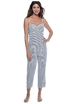 Nautica Striped Knit Pajama Set