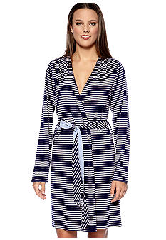 Nautica Striped Robe
