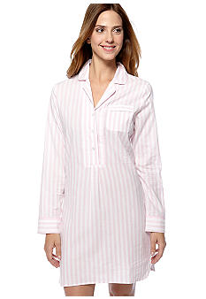Nautica Woven Striped Nightshirt