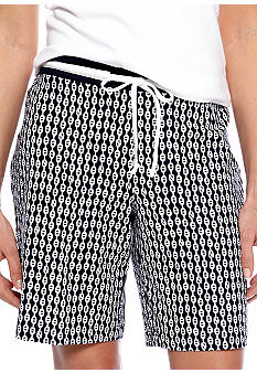 Nautica Chain Print Bermuda Sleep Short