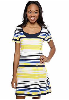 Nautica Striped Sleep Shirt