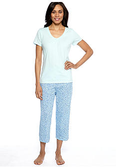 Nautica Scallop Dot Pajama Set