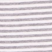 Sleepwear for Women: Ash Heather Nautica Knit Stripe Ankle Sleep Pant