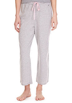 Nautica Knit Stripe Ankle Sleep Pant