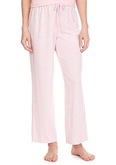 Nautica Knit Stripe Ankle Sleep Pant