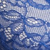 Women: Designer Sale: Deep Sea Blue/Ivory b. tempt'd by Wacoal B. Sultry Balconette Bra - 953261
