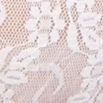 B.tempt'd By Wacoal: White b.tempt'd by Wacoal Lace Kiss Thong - 970182