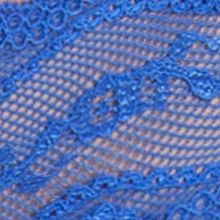 Luxury Lingerie: Dazzling Blue b.tempt'd by Wacoal Lace Kiss Thong - 970182