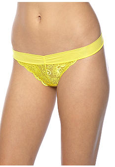 b.tempt'd by Wacoal b.tempt'd by Wacoal Bel Fiore Eyelet Lace Thong - 976113