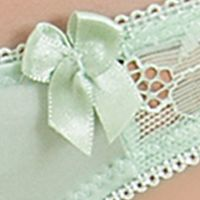 Women: Panties Sale: Light Green b.tempt'd by Wacoal Most Desired Thong - 976171