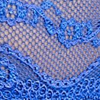 Luxury Lingerie: Dazzling Blue b.tempt'd by Wacoal Lace Kiss Bikini - 978182