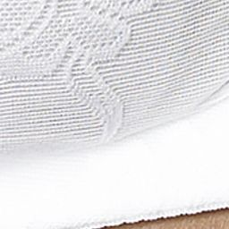 Plus Size Lingerie: Comfort: White Lunaire Versailles Wirefree Bra - 13214