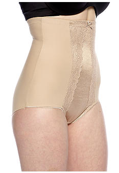 Miraclesuit Hi-Waist Brief with Lace and Wonderful Edge - 2735