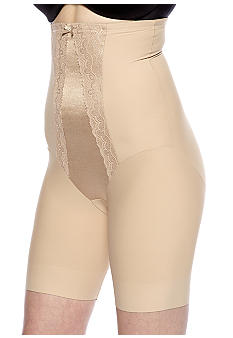 Miraclesuit Hi-Waist Thigh Slimmer with Lace with Wonderful Edge - 2739