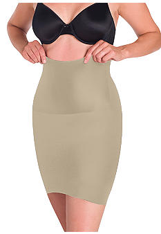 Naomi & Nicole Adjustable Waist Half Slip with Wonderful Edge - 750