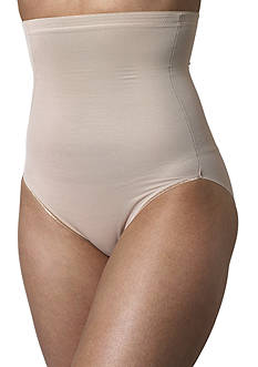 Plus Size Naomi & Nicole Hi-Waist Brief with Wonderful Edge - 7775