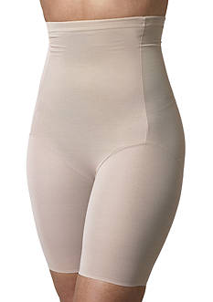 Plus Size Naomi & Nicole Hi-Waist Thigh Slimmer with Wonderful Edge - 7779